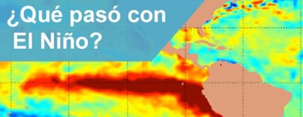 ¿Qué paso con El Niño?